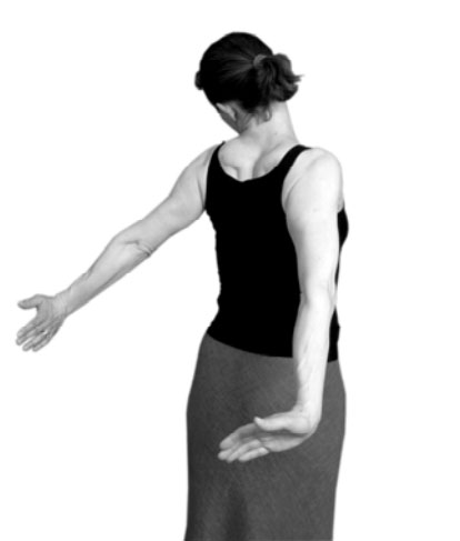 Titanic stretch for carpal tunnel syndrome